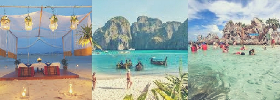 Beutiful Phi Phi Islands are the place where you can forget everything and just enjoy your time.